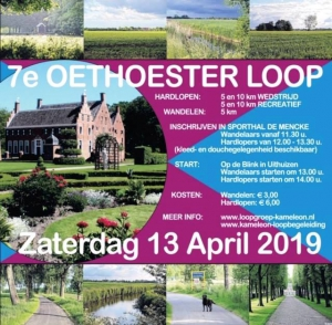 Zaterdag 13 April De 7e Oethoesterloop
